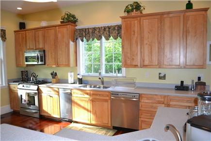 Edgartown/West Tisbury Line Martha's Vineyard vacation rental - Extra large Gourmet Kitchen w/ Island