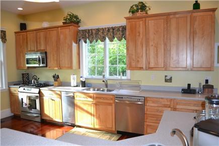 Edgartown/West Tisbury Line Martha's Vineyard vacation rental - Extra large Gourmet Kitchen w/ Island