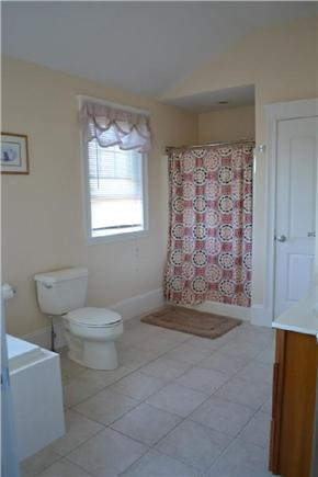 Edgartown/West Tisbury Line Martha's Vineyard vacation rental - Bathroom with Jacuzzi