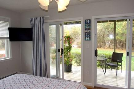 Katama - Edgartown, Edgartown Martha's Vineyard vacation rental - Bedroom facing side deck