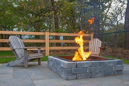 Katama - Edgartown, Edgartown Martha's Vineyard vacation rental - Retreat to the fire pit for a camp fire & smores.