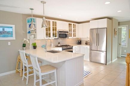 Katama - Edgartown, Edgartown Martha's Vineyard vacation rental - Kitchen with Stainless steel appliances and Quartz counter top.