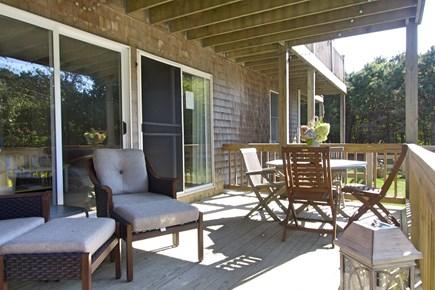 Katama - Edgartown, Edgartown Martha's Vineyard vacation rental - Side deck off ensuite bedroom