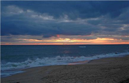 Katama - Edgartown, South Beach Martha's Vineyard vacation rental - The sun sets at beautiful South Beach - a walk beckons