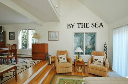 Katama - Edgartown, South Beach Martha's Vineyard vacation rental - Another view of our great room - relax in recliners.