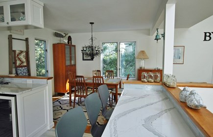 Katama - Edgartown, South Beach Martha's Vineyard vacation rental - Breakfast bar, for meal time or an afternoon indulgence.