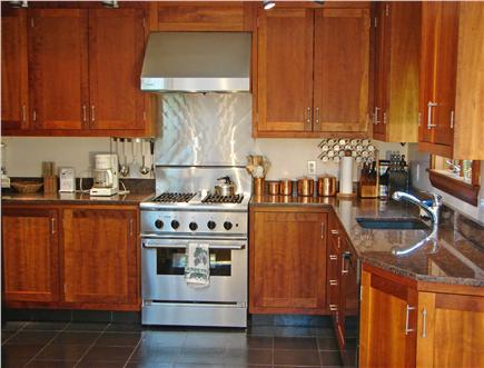 Oak Bluffs Martha's Vineyard vacation rental - Modern kitchen w/ upscale cabinets, appliances and counter tops