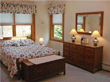 Oak Bluffs Martha's Vineyard vacation rental - Queen sized master bedroom with private bathroom