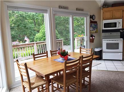 Katama - Edgartown, Martha's Vineyard, Edgartown Martha's Vineyard vacation rental - Dining Area seats 6, 3 counter stools
