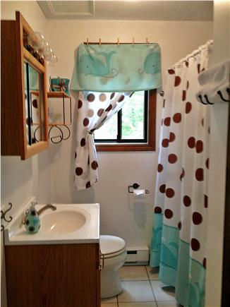 Katama - Edgartown, Martha's Vineyard, Edgartown Martha's Vineyard vacation rental - First Level Bathroom, Tub/Shower