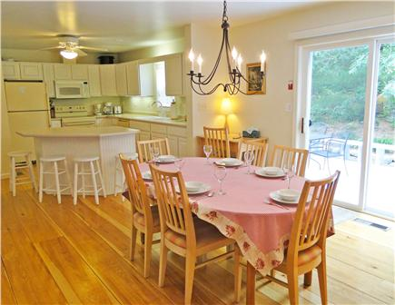 Edgartown Martha's Vineyard vacation rental - Dining close to modern kitchen with breakfast bar