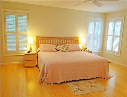 Edgartown Martha's Vineyard vacation rental - Main floor master with king bed, private bath