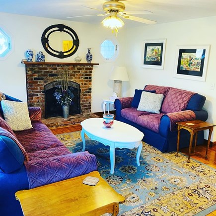 Edgartown Martha's Vineyard vacation rental - A Cozy Living Room to Relax In