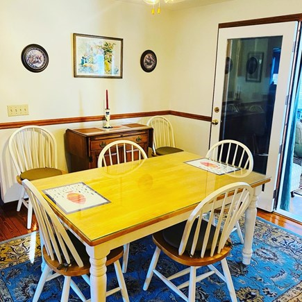 Edgartown Martha's Vineyard vacation rental - Dining Area Located Directly Off Of The Kitchen
