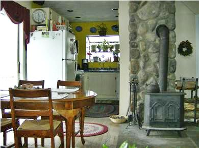 OAK BLUFFS near  SAILING CAMP Martha's Vineyard vacation rental - Great little Galley Kitchen with open dining area