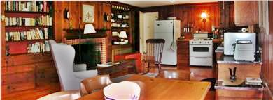 Chilmark Martha's Vineyard vacation rental - Kitchen Panorama
