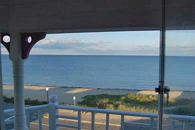 Oak Bluffs Martha's Vineyard vacation rental - Huge wraparound front porch--spectacular view