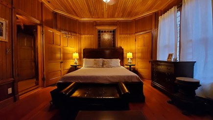 Oak Bluffs Martha's Vineyard vacation rental - Sample bedroom, king bed off the first floor hallway