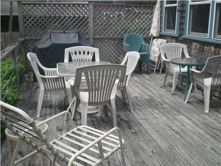 Oak Bluffs, East Chop Martha's Vineyard vacation rental - Sunny Deck & BBQ, New Electric Awning, Good Seating.