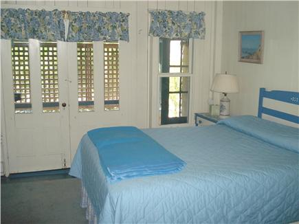 Oak Bluffs, East Chop Martha's Vineyard vacation rental - Downstairs Queen Master Bedroom, Closet, Two Bureaus, Porch.