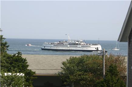 Oak Bluffs, East Chop Martha's Vineyard vacation rental - Upstairs Master Bedroom View - Ferry Martha's Vineyard out of OB.