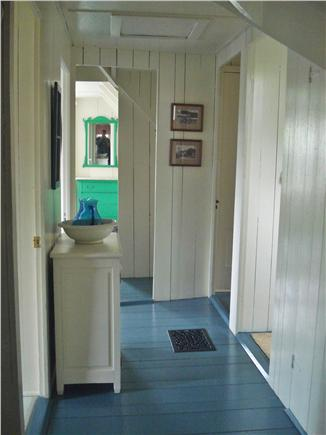 Oak Bluffs, East Chop Martha's Vineyard vacation rental - Upstairs Hallway - 5 Bedrooms Upstairs, Laundry Room, Half-Bath.