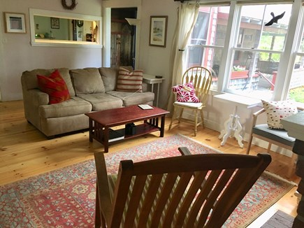 Oak Bluffs Martha's Vineyard vacation rental - Living Room, loveseat out of view