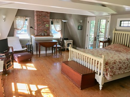 Oak Bluffs Martha's Vineyard vacation rental - Master bedroom with deck