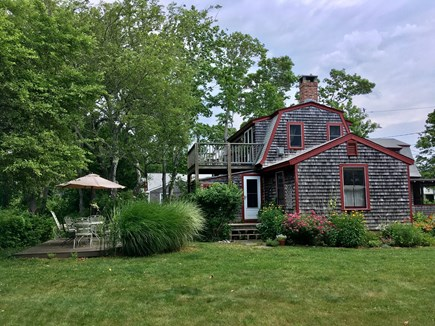 Oak Bluffs Martha's Vineyard vacation rental - Back deck, bbq grill