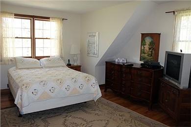 Katama - Edgartown Martha's Vineyard vacation rental - Master bedroom- second floor- queen bed