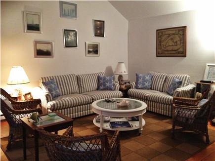 Oak Bluffs Martha's Vineyard vacation rental - Open,vaulted ceiling Living Room