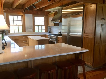 Katama - Edgartown Martha's Vineyard vacation rental - All new kitchen in main house! State of the art appliances.