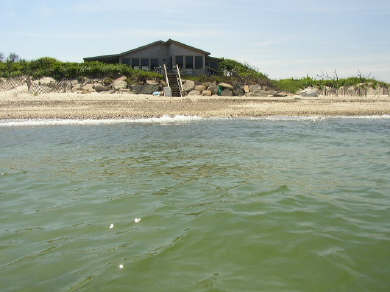 Vineyard Haven  Martha's Vineyard vacation rental - View of house from the ocean