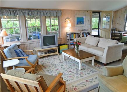 Vineyard Haven  Martha's Vineyard vacation rental - Spacious living area with panoramic ocean views