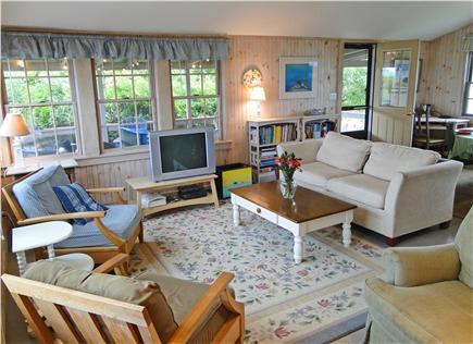 Vineyard Haven  Martha's Vineyard vacation rental - Spacious living area with panoramic ocean views