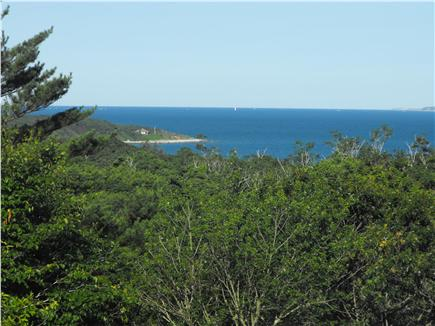 West Tisbury, MA Martha's Vineyard vacation rental - View from the deck of the Sea-Saw...where you see the sea!