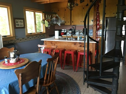 West Tisbury, MA Martha's Vineyard vacation rental - Prepare dinner with a view!