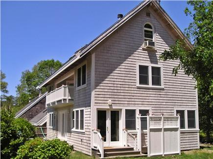 Vineyard Haven Martha's Vineyard vacation rental - The Tashmoo Hideaway's ''New Wing'', 3-level home near town & bea
