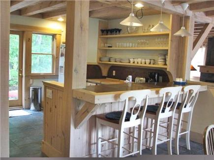 Vineyard Haven Martha's Vineyard vacation rental - Kitchen bar seating