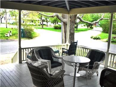 Oak Bluffs Martha's Vineyard vacation rental - Large Front Porch