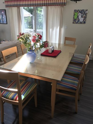 Edgartown Martha's Vineyard vacation rental - Table seats 8