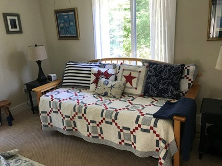 Edgartown Martha's Vineyard vacation rental - Rear bedroom, sofa opens to 2 twins or queen. Walk-in closet too.