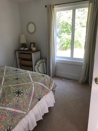 Edgartown Martha's Vineyard vacation rental - Front BR, queen bed, large closet, can have ensuite bath