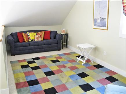 Edgartown Martha's Vineyard vacation rental - Loft area upstairs, sofa that opens to queen bed