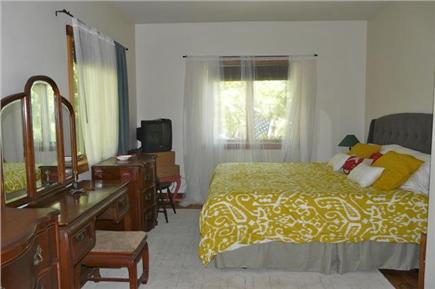 West Tisbury, Long Point Beach Area Martha's Vineyard vacation rental - Master bedroom first floor with on suite bathroom