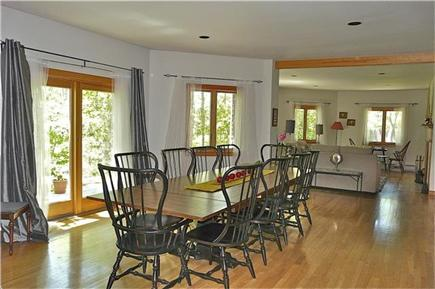 West Tisbury, Long Point Beach Area Martha's Vineyard vacation rental - Dining room