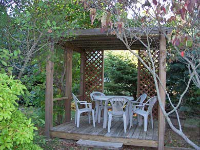 Oak Bluffs Martha's Vineyard vacation rental - Dine alfresco in the gazebo!