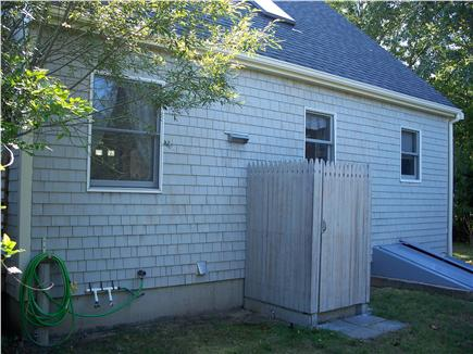 Oak Bluffs Martha's Vineyard vacation rental - Enclosed outside shower