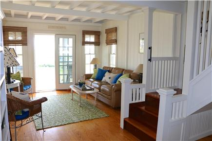 Oak Bluffs Martha's Vineyard vacation rental - Living room, out to Porch