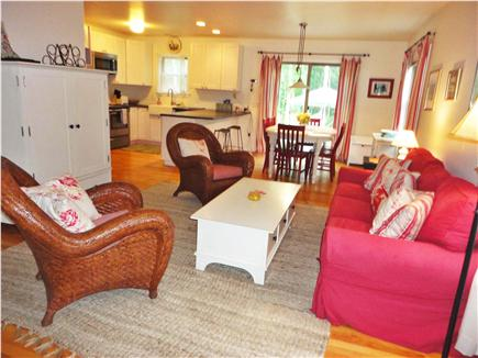 Edgartown Martha's Vineyard vacation rental - Comfortable and open living